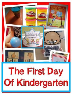First Day of Kindergarten Ideas and Activities