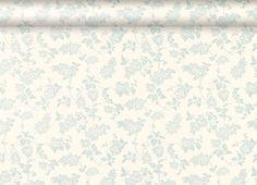 Lilac Floral Duck Egg Wallpaper, Laura Ashley