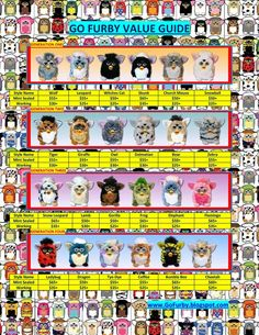 GO FURBY - #1 Resource For Original Furby Fans!: Original Furby Value Guide