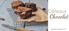 """Voila ça se voit je suis fan de la cuisine du Chef Cyril Lignac, j'adore ces recettes parce qu'elles sont simples. Je vous propose la recette du Brownies au chocolat et noix de pécan tirée de son livre """"OUI CHEF !!! """""""