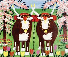Understanding Maud Lewis, the Often Overlooked Canadian Folk Artist - Artsy Maudie Lewis, Scandinavian Folk Art, Naive Art, Canadian Artists, Outsider Art, Famous Artists, Decoration, Art History, Art Photography