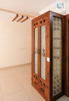 Pooja Room Door Design, Ceiling Design Living Room, Home Room Design, Interior Design Kitchen, Interior Ideas, Living Room Partition, Room Partition Designs, Temple Design For Home, Mandir Design