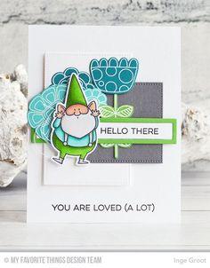 Vandaag voorbeelden van de Card Kit van Maart van My Favorite Things Stamps . Elke maand verschijnt er een nieuwe Card Kit, Deze maand i...