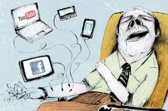 When a person uses technology for reasonable purposes then it is normal. Technology addiction is referred to as the uncontrollable use of technological devices. Technology Addiction, Global Citizenship, Social Media Outlets, Love Me More, Social Media Marketing, Illustration, Geek Stuff, Digital, Instagram