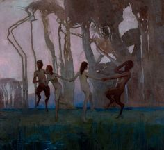 Spirit of the Land - by Sydney Long