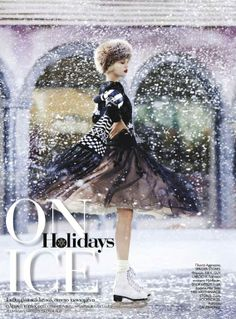 """""""Holidays on Ice"""" in Madame Figaro Greece"""