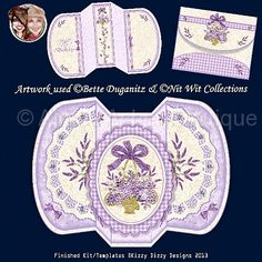 Lace and Lavender :: Printable Cards :: Aimee Asher Boutique
