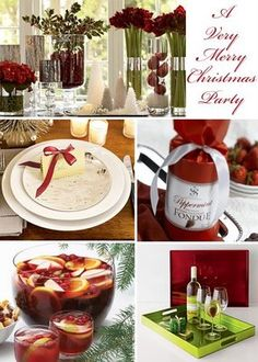 Tastefully Entertaining | Event Ideas & Inspiration: A Very Merry Christmas Party