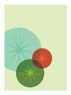 Another great mid century modern print.  This would make a great design for a metal clay stamp...  I must try it!