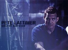 Pete Lattimer - Secret Service - Warehouse 13