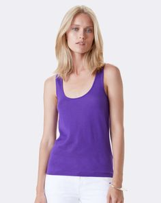 Cashmere Scoopneck Tank - Collection Apparel Cashmere - RalphLauren.com