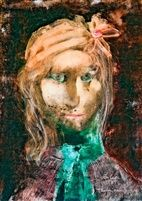 Leányfej by Endre Szasz