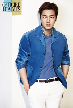 We finally got our Lee Min Ho's HQ interior spreads from the May edition of L'Officiel Hommes. Go here for his cover spread. Meanwhile, his Heirs sibling, Choi Jin Hyuk, also adds his s… Asian Boys, Asian Men, Asian Actors, Korean Actors, Korean Male Models, The Great Doctor, Lee Min Ho Photos, Choi Jin Hyuk, No Min Woo