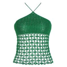 Free crochet pattern Triangular Summer Top