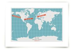 You are Here Art Prints by Michelle Roman at minted.com