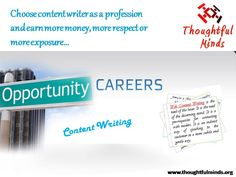 Choosing content writing as your career option is quite nice and will prove to be beneficial for you, read more to know about how to get content writing jobs in Jaipur !