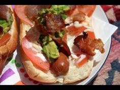 Bacon Avocado Hot Dog (California Dog!) - Chop Happy