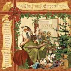 graphic 45 paper | CHA Summer Sneak Peek: More Christmas Emporium!