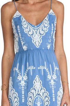 Dolce Vita Joao Dress in Dusty Blue