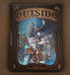 The Outside: The Artwork of Greg Craola Simkins is now available in store and online at upperplayground.com #shopUP #UpperPlayground @Craola #TheOutside #Book #Art #Craola