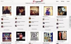 Modeled after Pinterest, Pingram allows you to view Instagram photos in the same way you might browse through pins on Pinterest.