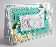 Handmade Boxed Birthday Card Luxury 8 x by ElleBeeCardsOnline