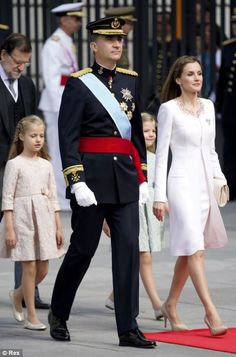 King Felipe and Queen Letizia of Spain are seen as a down-to-earth couple, loved by the nation. They have remained free from scandal, unlike many of the other royals 19th June 2014