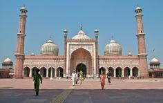 Jama Masjid, Old Delhi.
