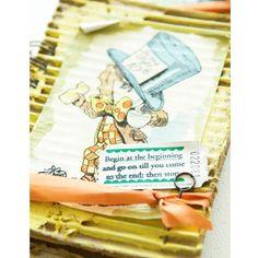 Alice Mini Books Project - Stampington