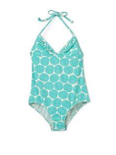 ROXY GIRLS Baby Girls Swimwear 18-24 MONTHS One Piece SWIMSUIT  Sun Coral  NWT