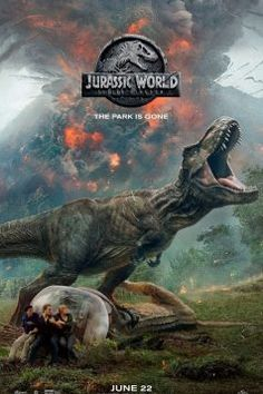 The official title and a new poster for the sequel to 'Jurassic World' have been revealed. Hitting theatres on June the upcoming installment, once again starring Chris Pratt and Bryce Dallas Howard, will be called 'Jurassic World: Fallen Kingdom'. Streaming Movies, Hd Movies, Movies To Watch, Movies Online, Movie Tv, 2018 Movies, Streaming Vf, Movies Free, Action Movies