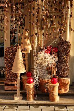 новогодние витрины фото