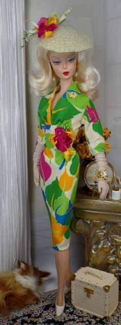 A Tropic Tryst for Silkstone Barbie and Victoriea Roux OOAK Doll Fashion