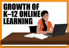 """""""Infographic: K-12 Online Learning Growth by the Numbers"""" from Connections Academy online school. Pin to Prepare—Create a Pinboard of """"Cool Tools for Online School"""" for a Chance to Win!   #onlinelearning #infographic #edtech"""