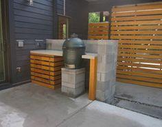Althea Way House - Modern - Patio - wilmington - by B + O design studio, pllc