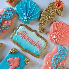 Mermaid cookies