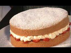 ▶ Genoise Batter Cake | Kenwood Cooking Chef | Recipe - YouTube