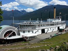 SS Moyie Kaslo, BC on Kootenay Lake O Canada, Canada Travel, Places To See, Places Ive Been, Area Map, British Columbia, The Good Place, Sailing, Mexico