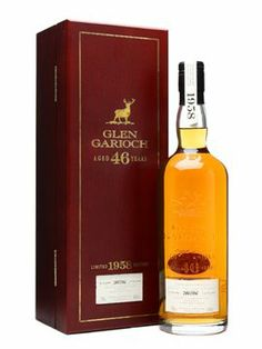For special occasions, she drank Glen Garioch 1958 / 46 Year Old Highland Single Malt Scotch Whisky.
