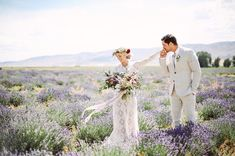 Lavender Field portraits with a custom made dress