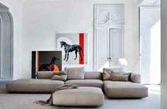 Zanotta Altopiano, design by Ludovica & Roberto Palomba