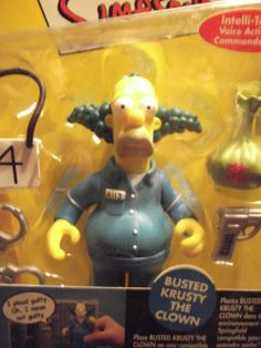 Busted Krusty the Clown