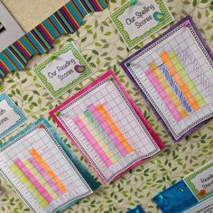So Proud of My Kiddos! - I Love My Classroom data wall. I am going to try this