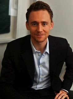 Tom Hiddleston. Via Twitter. And wow.