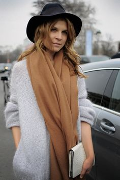 Clemence Poesy is the epitome of French chic