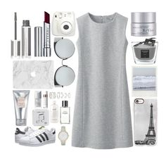 """Everything is grey"" by xcuteniallx ❤ liked on Polyvore featuring Uniqlo, RéVive, Fresh, Laura Mercier, Baobab Collection, Givenchy, Fujifilm, Christian Dior, Forever 21 and philosophy"