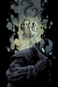 Abe Sapien: Dark & Terrible - Dave Stewart and Sebastian Fiumara Cover Comic Book Characters, Comic Character, Comic Books Art, Comic Art, Abe Sapien, Halloween Villain, Book Art, Free Comics, Superhero Design