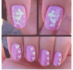 Cute Disney Nails!