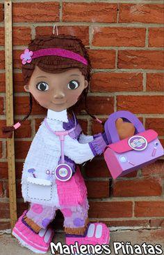 Piñata de doc McStuffins o sus amigos... Lambie por Marlenespinatas
