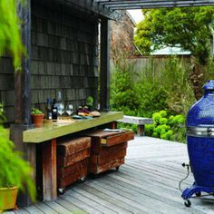 Outdoor Bar 15 Great Ideas for Decks   At Home - Yahoo Shine